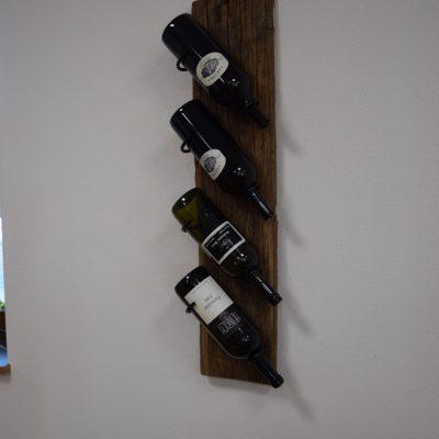 Wein Halterung, Eiche Altholz