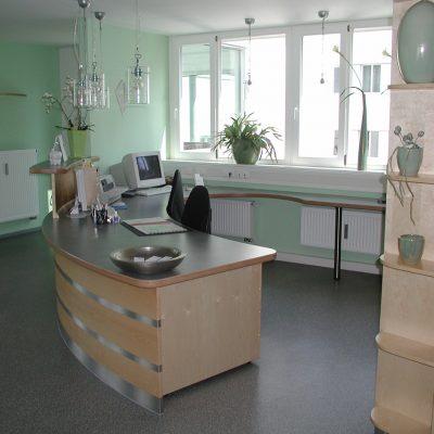 Referenzen Arztpraxen Schreinerei Kinateder Hundsdorf Passau