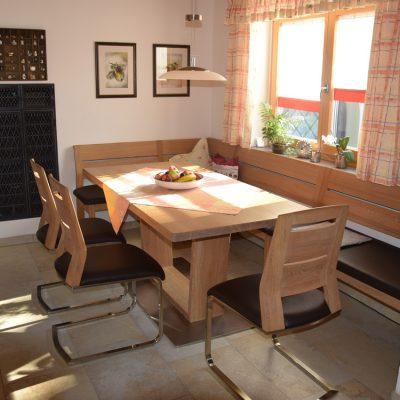 Referenzen Esszimmer Schreinerei Kinateder Hundsdorf Passau
