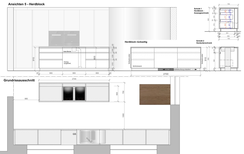 3D Planung Küche Schreinerei Kinateder Hundsdorf Passau